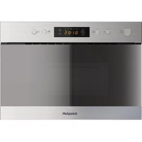 MN 314 IX H Built-in Microwave with Grill, Stainless Steel