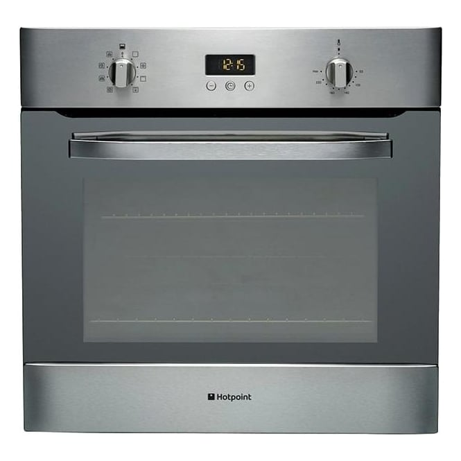 Hotpoint SH83CXS Electric Single Oven, Stainless Steel