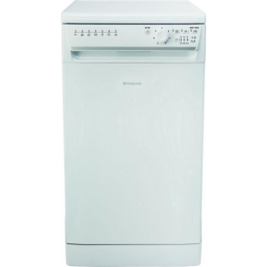 SIAL 11010 P Slimline  A+ Dishwasher, White