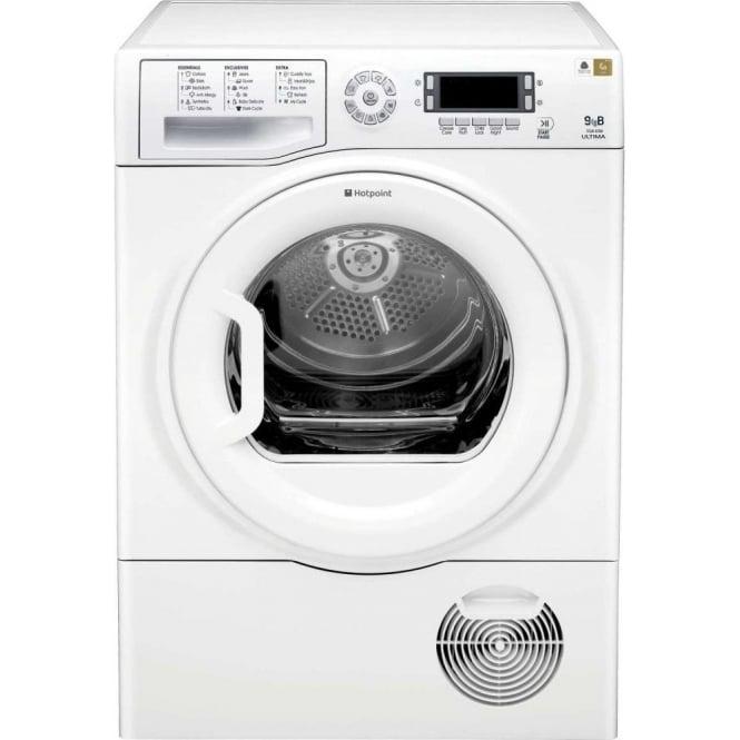 Hotpoint SUTCD97B6P 9kg Condenser Dryer, White