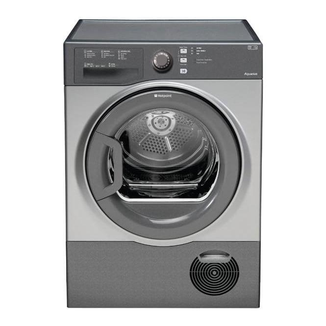 Hotpoint TCFS83BGG AQUARIUS 8kg, B Condenser Tumble Dryer, Graphite