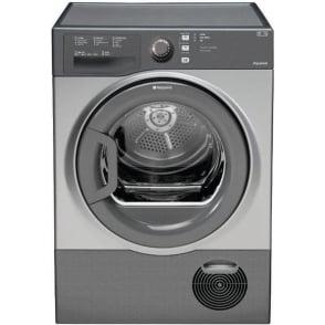 TCFS83BGG AQUARIUS 8kg, B Condenser Tumble Dryer, Graphite