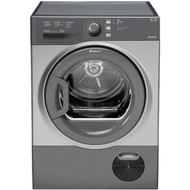 TCFS83BGG AQUARIUS 8kg, B Condenser Tumble Dryer, Graphite