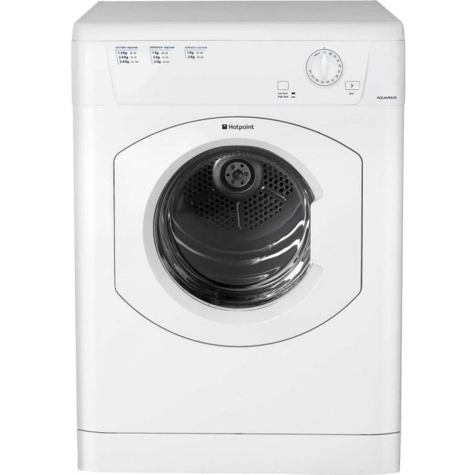 Hotpoint TVHM80CPUK Vented Tumble Dryer 8kg Load, White
