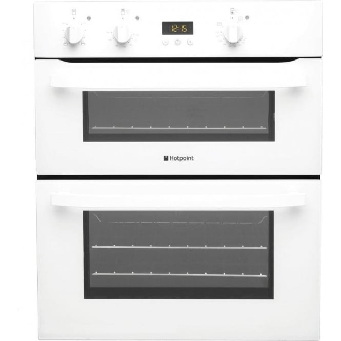 Hotpoint UH53WS Electric Built Under Double Oven, White