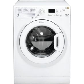WDPG8640PUK Aquarius Washer Dryer, 8kg Wash, 6 KG Dry Load, White