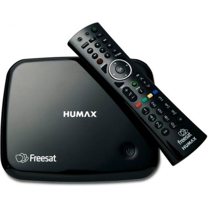Humax HB1100s Freesat Receiver with integrated Wi-Fi, Black