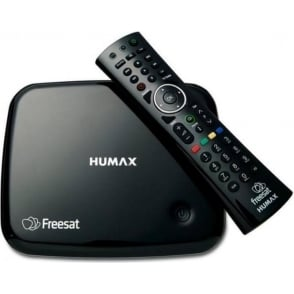 HB1100s Freesat Receiver with integrated Wi-Fi, Black