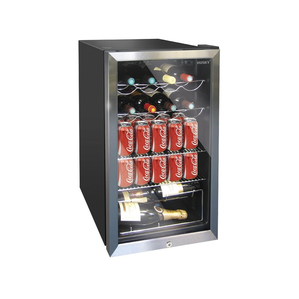 Husky hm39 el undercounter wine cooler for Best wine fridge brands