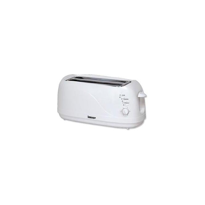 Igenix IG3020 4 Slice White Toaster