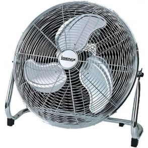 "Igenix DF1800 Chrome 18"" Floor Fan"