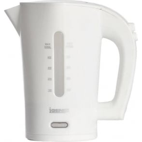 Dual Voltage Travel Kettle, White