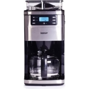 Grind & Brew Digital Filter Coffee Maker, Brushed Stainless Steel