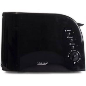 IG301BL 2 Slice Toaster, Black