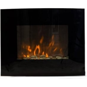 IG9410 Hamilton Glass Wall-Mounted Electric Fire with Flame Effect