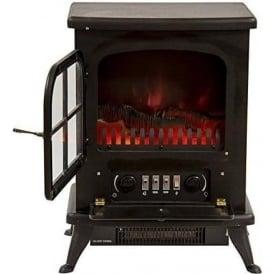 IG9430 Oakman Flame Effect Stove 950W, Black
