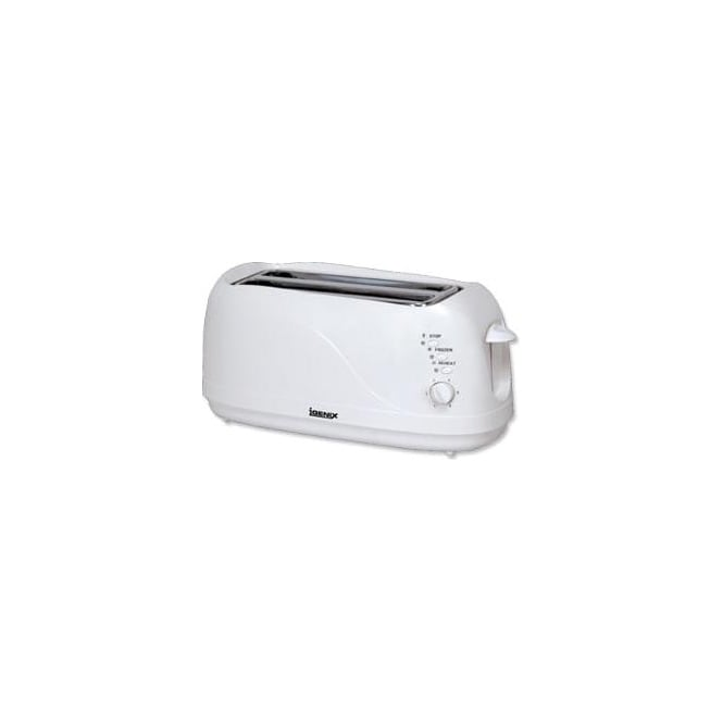 Igenix Long Slot 4 Slice Toaster, White