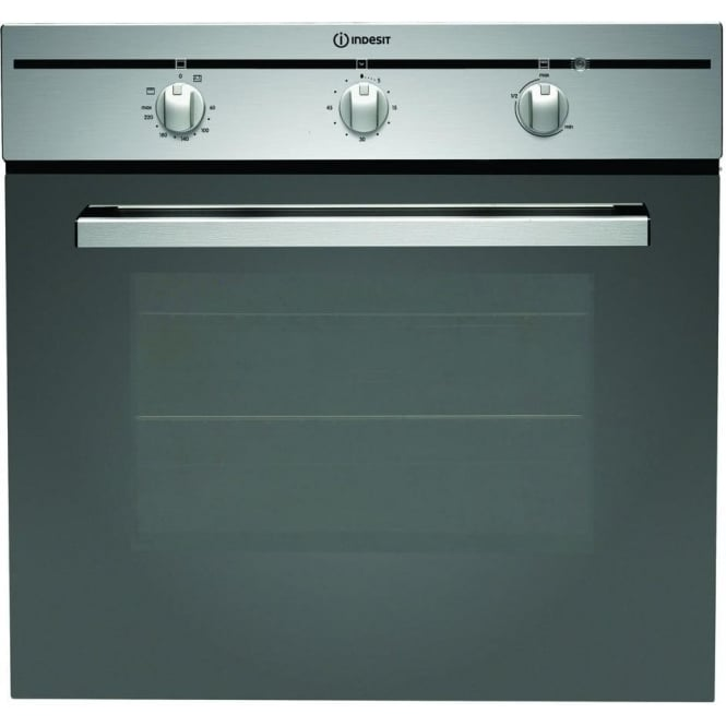 Indesit CIMS51KAIXGB Electric Single Oven, Stainless Steel