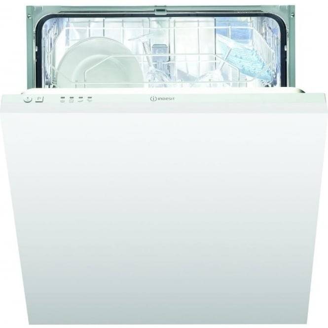 Indesit DIF04B1UK 60cm Fully Integrated Dishwasher, 13 Place Settings