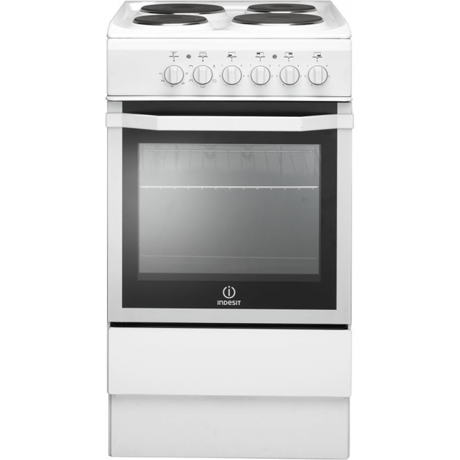 Indesit I5ESHW Freestanding Cooker, White