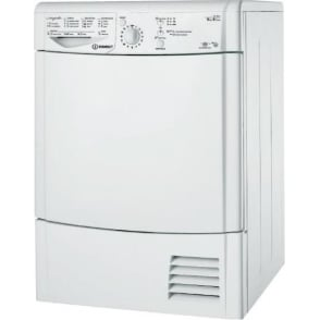 IDCL85BHS 8kg, B Condenser Tumble Dryer, Silver