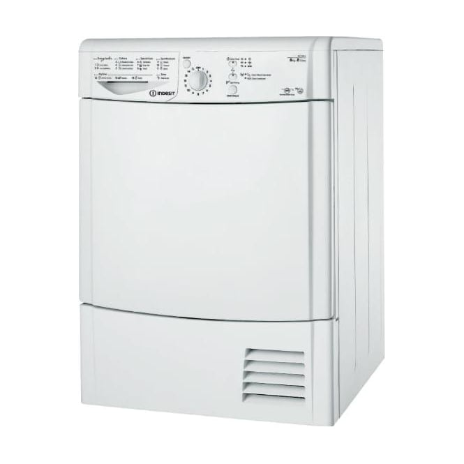 Indesit IDCL85BHS Condenser Tumble Dryer 8kg, Silver