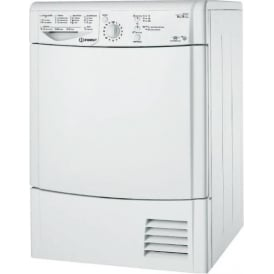 IDCL85BHS Condenser Tumble Dryer 8kg, Silver