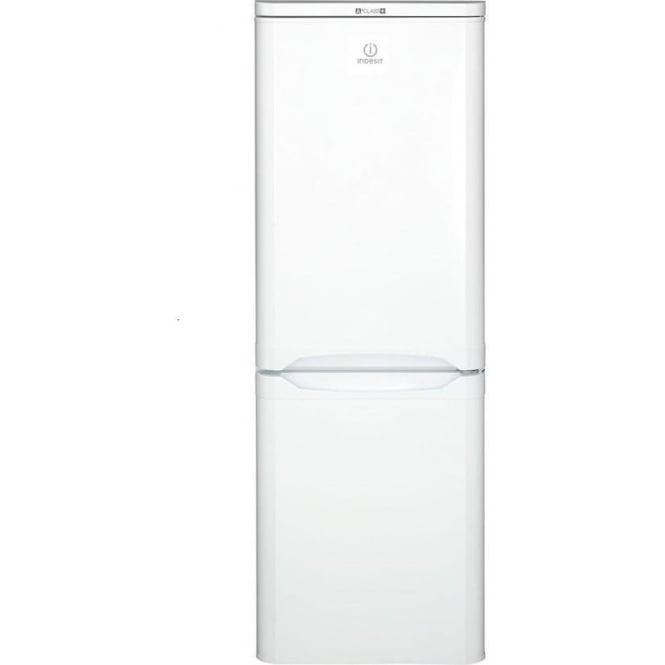 Indesit NCAA55 Fridge Freezer A+, White