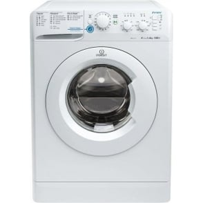 XWSC61251W Freestanding Washing Machine 6kg, A+, 1200rpm Spin, White