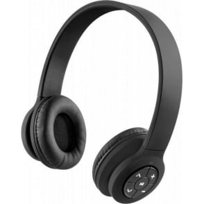 HXHP420BKEU Transit Bluetooth Wireless Headphones With Mic, Black