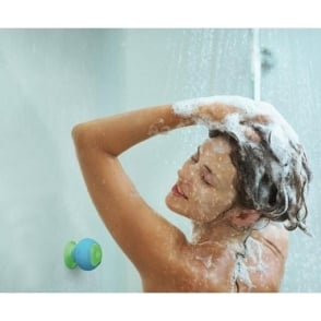 Wireless Splash Proof Suction Speaker