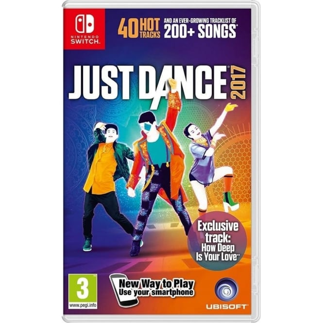 nintendo just dance 2017 nintendo switch nintendo from. Black Bedroom Furniture Sets. Home Design Ideas