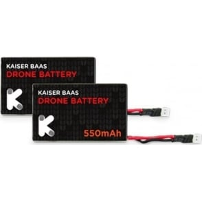 Alpha Drone KBA15004 Lithium-ion Battery - Twin Pack