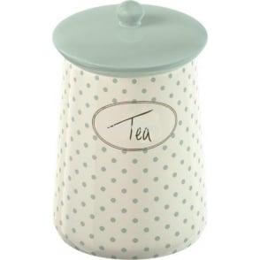 Cottage Flower Ceramic Tea Jar