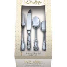 Vintage 16pc Cutlery Set Stainless Steel