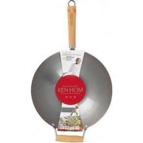 Performance Carbon Seasoning Steel Wok, 31cm