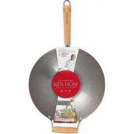 Performance Carbon Seasoning Steel Wok, 31cm