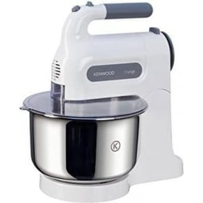 Chefette Hand Mixer with Bowl, 350W, White