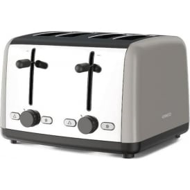 Scene 4 Slice Toaster, Grey