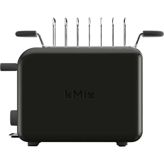 Kenwood TTM020BK Kmix Toaster, Black
