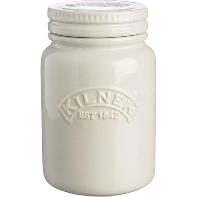 Kilner Ceramic Storage Jar, Moonlight Grey