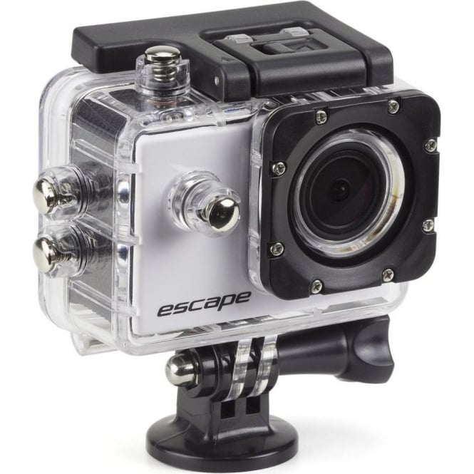 Kit Escape HD5 720p Waterproof Action Camera with Mounting Accessories