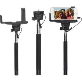 Wired Selfie Stick with Phone Holder