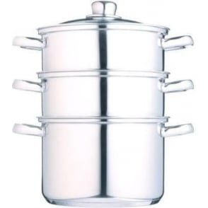 18 cm Clearview Stainless Steel 3-tier Steamer