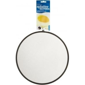 29 cm Black Wire Non-Stick Splatter Screen
