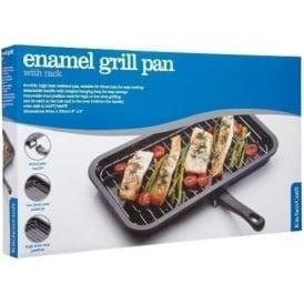 40 x 23 cm Enamel Grill Pan