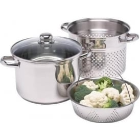 7.5 L Clearview Stainless Steel Multi Cooker
