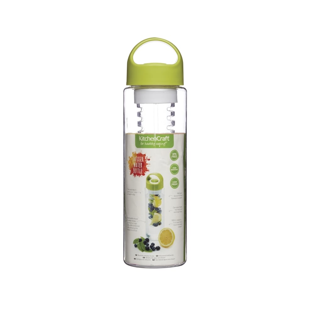 Kitchen Craft Infuser Bottle Green Home Appliances From