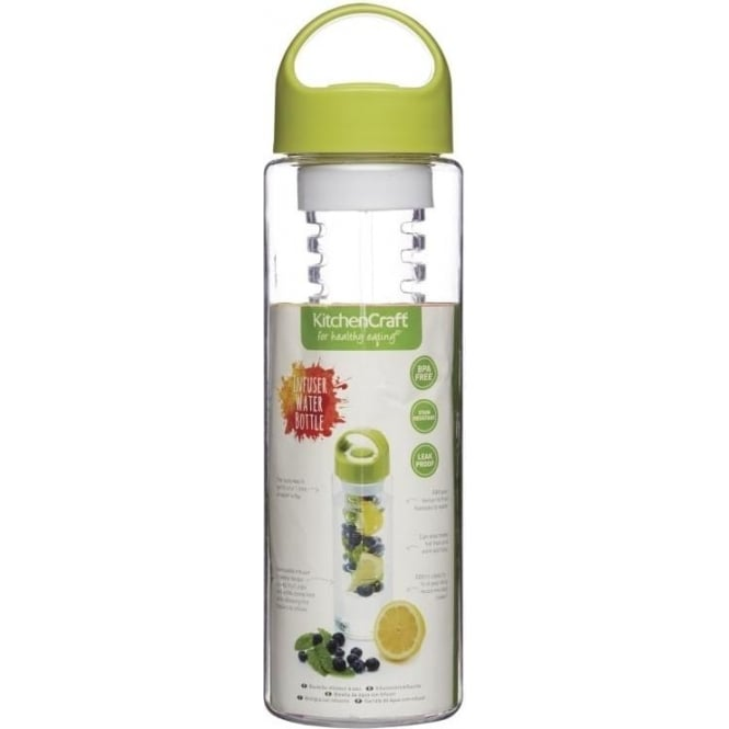 Kitchen Craft Infuser Bottle, Green