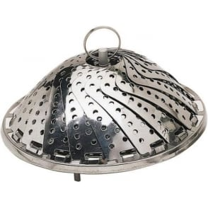 Stainless Steel 23cm Collapsible Steaming Basket